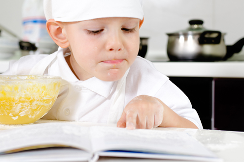 The basics of cooking with children